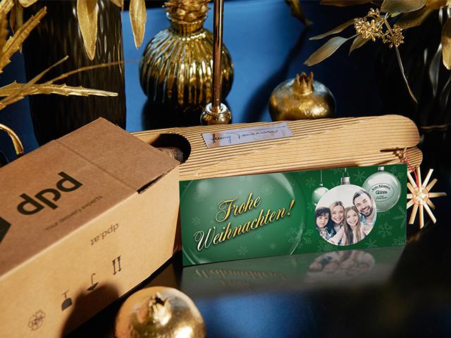 Pecoraro Balsamico - Personalisierte Weihnachtskarte